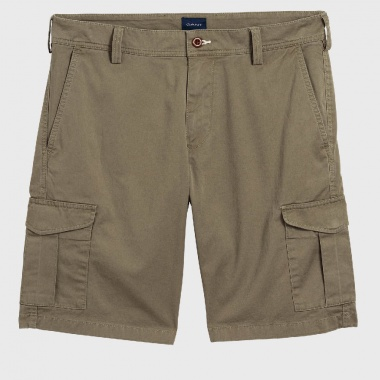 Belted Utility Shorts
