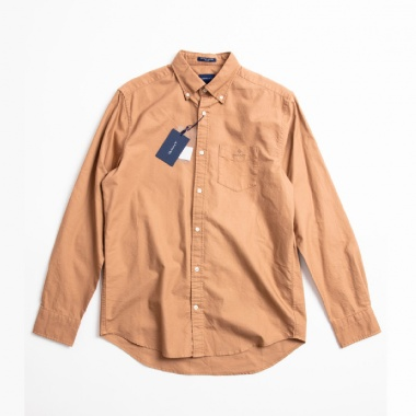 Camisa oxford lisa camel