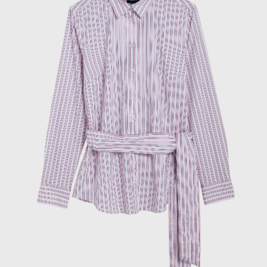 Dobby Twill Stripe Shirt