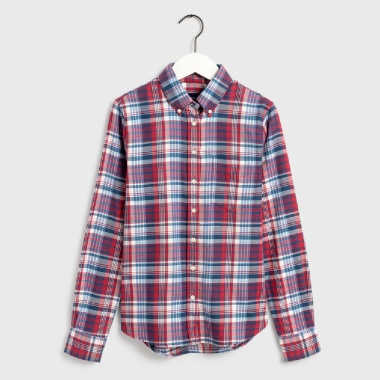 Camisa cuadros winter faded twill