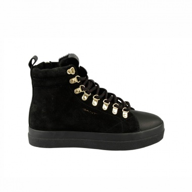 Botines negros Low Lace