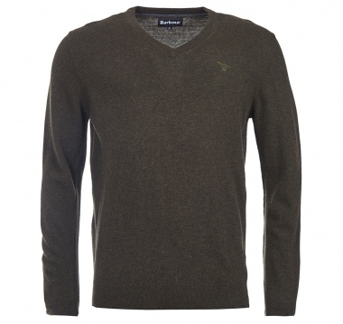 Jersey Essential Lamsbwool verde oscuro