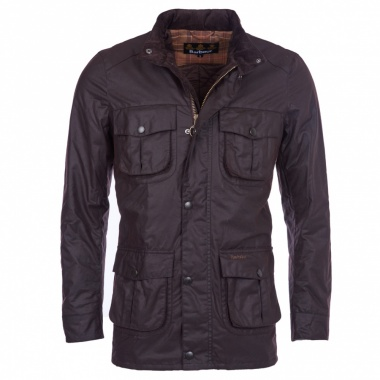 Chaqueta Corbridge encerada marrón