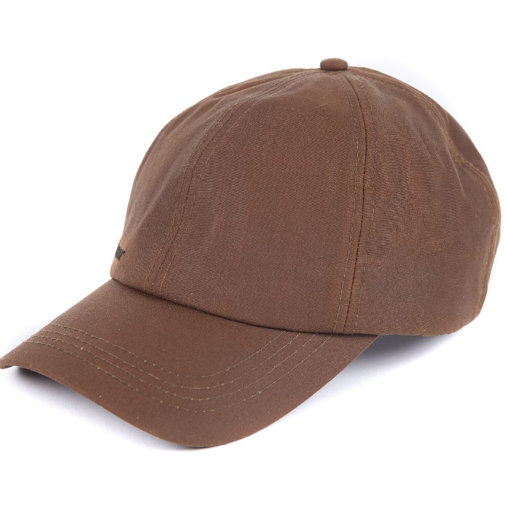 Gorra marrón Wax Sports encerada