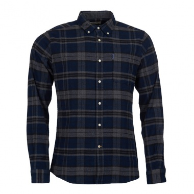Camisa Highland Check 19 Tailored gris