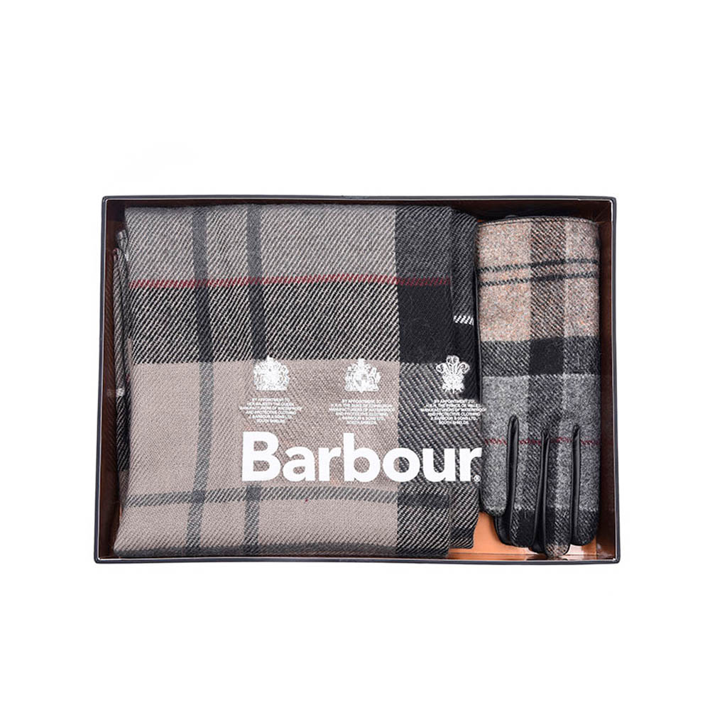 Pack Guantes y Bufanda Barbour  413dbb28918