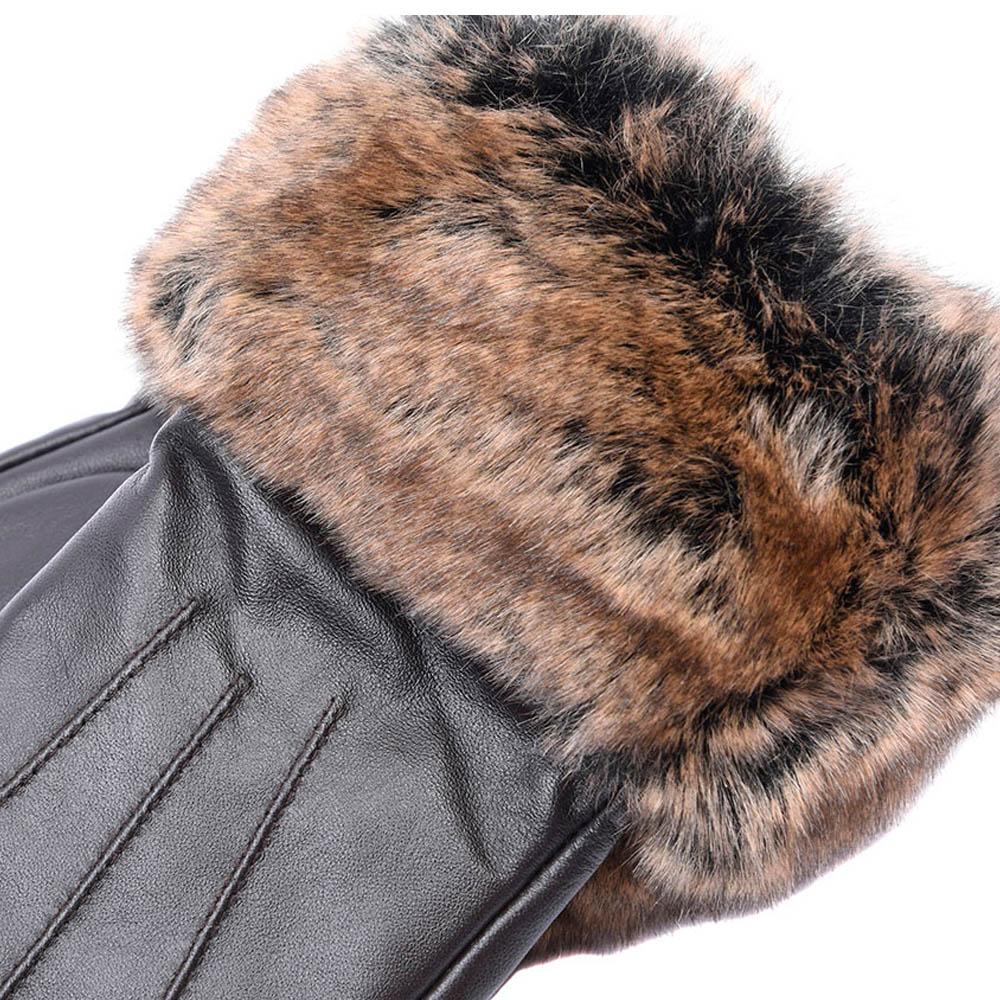 Guantes Fur Trimmed Piel Barbour  2899f84cb8df