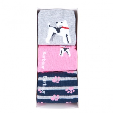 Pack Calcetines Terrier Rosa