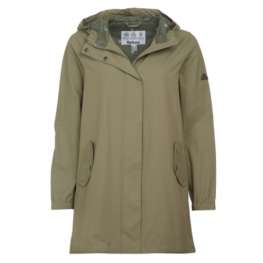 Chaqueta impermeable Shingle verde