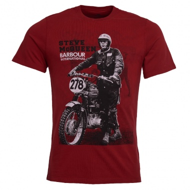 Camiseta Stand Ride rojo