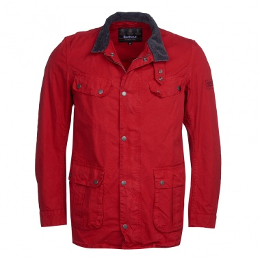 Chaqueta Summer Wash Duke rojo