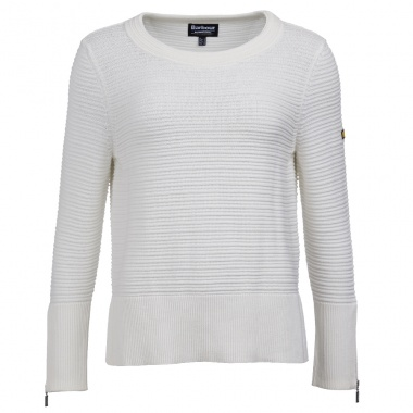 Jersey Blanco Garrow de Barbour