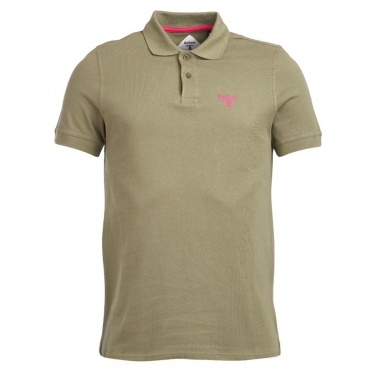 Polo Beacon verde musgo