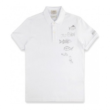 Polo liso Summer Stories blanco