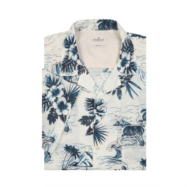 Camisa estampado playero