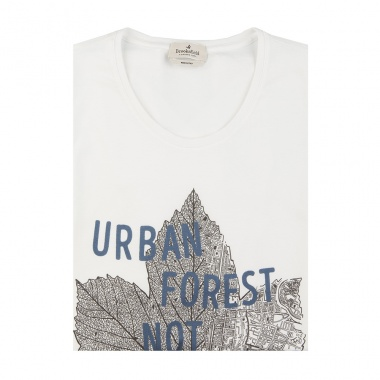 Camiseta Forest blanco
