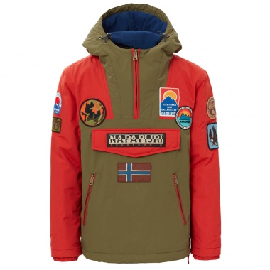 Chaqueta Rainforest Multi Patch