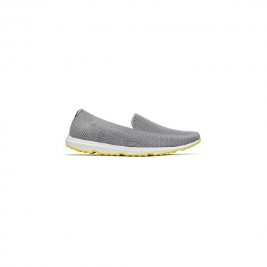 Sneaker Breeze Leap gris suela amarillo