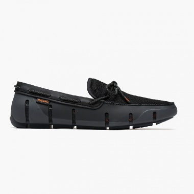 Mocasines Strade Lace negro