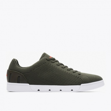 Zapatillas Breeze Tennis oliva